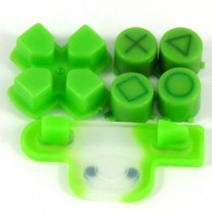 Boutons + Dpad Apple Green PS3