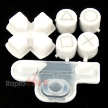 Buttons White PS3