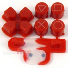 Buttons Red PS3